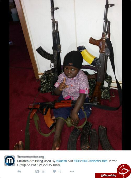 تربیت کودکان به سبک داعش +تصاویر