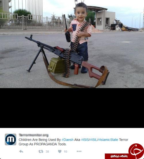 تربیت کودکان به سبک گروه داعش