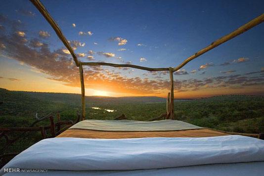 اتاق این هتلها بدون سقف است+تصاویر