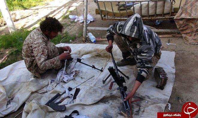 تجهیزات داعش + عکس