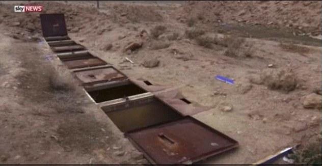 تصاویری تکان دهنده از جهنم های زیرزمینی زنان ایزدی در سوریه+ فیلم