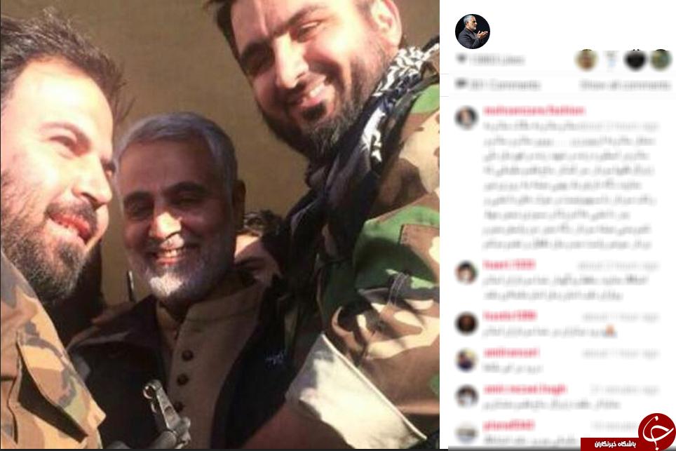 سردار سلیمانی و همرزمانش+عکس