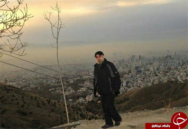 کوهنوردی به سبک روحانی +تصاویر