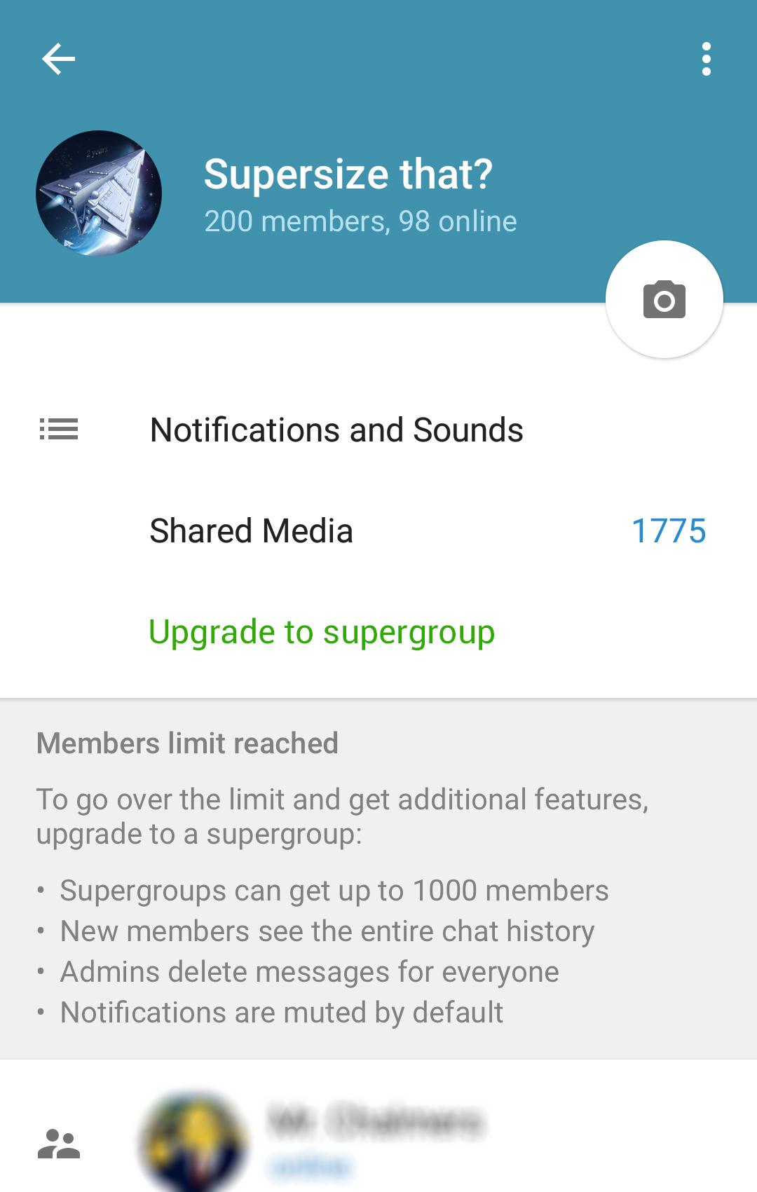 ساخت سوپر گروه در تلگرام + آموزش