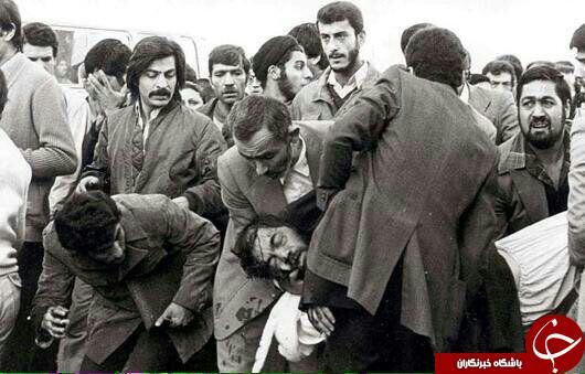 تصویری پس از ترور شهید مفتح