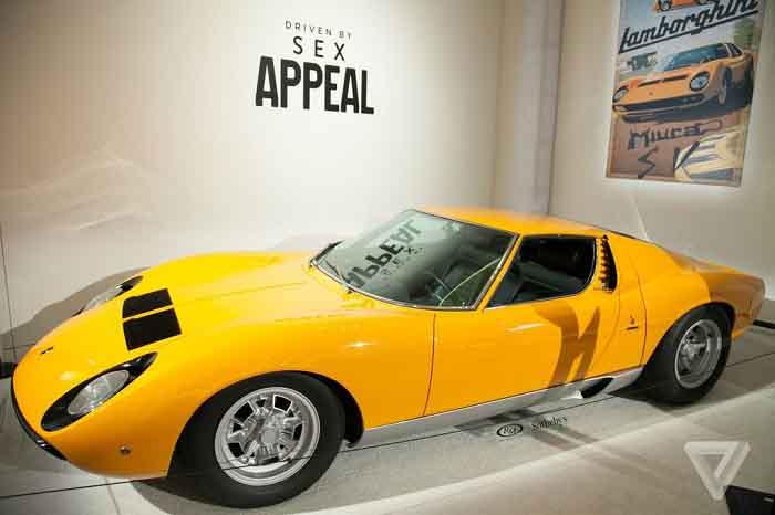نمایشگاهی از خودروهای کم یاب
