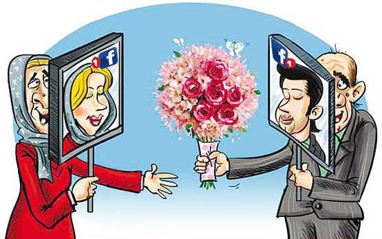 چت و ازدواج های اینترنتی