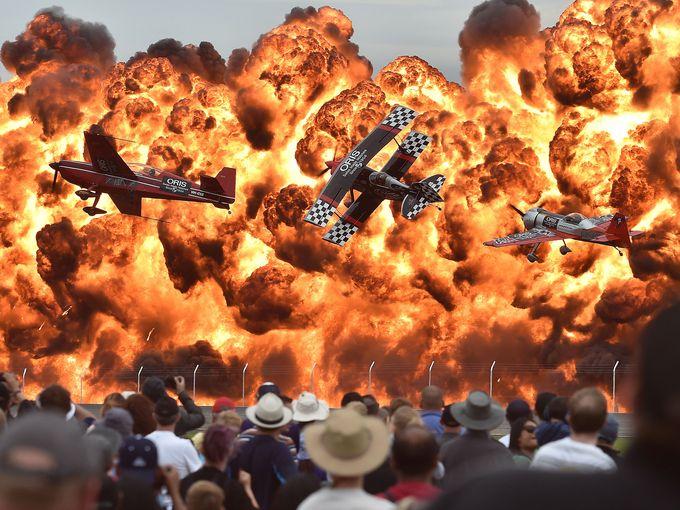 رخدادهای مهم سال 2015 را در قالبی تصویری
