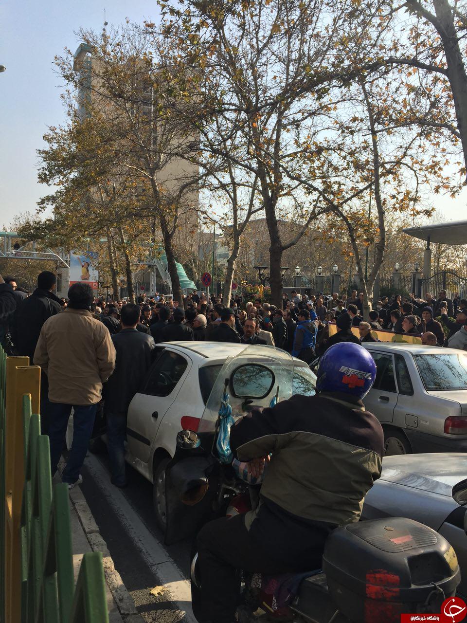 تجمع اعتراضی سپرده گذاران کاسپین.