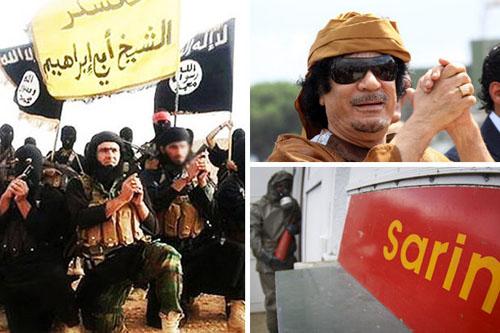 داعش به انبارهای