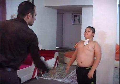پسر آهنربایی در قزوینی+تصاویر