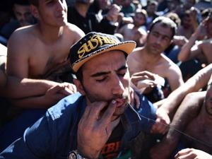 اعتصاب غذا و لبدوزی اسفبار ایرانیها در مرز مقدونیه+ تصاویر