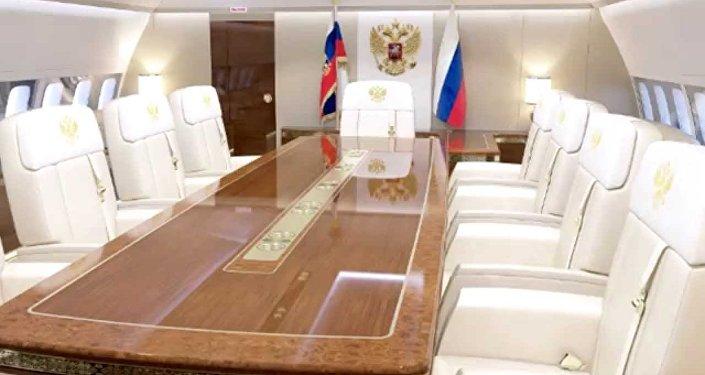 گشتی در هواپیمای 90 میلیون دلاری ولادیمیر پوتین+ تصاویر