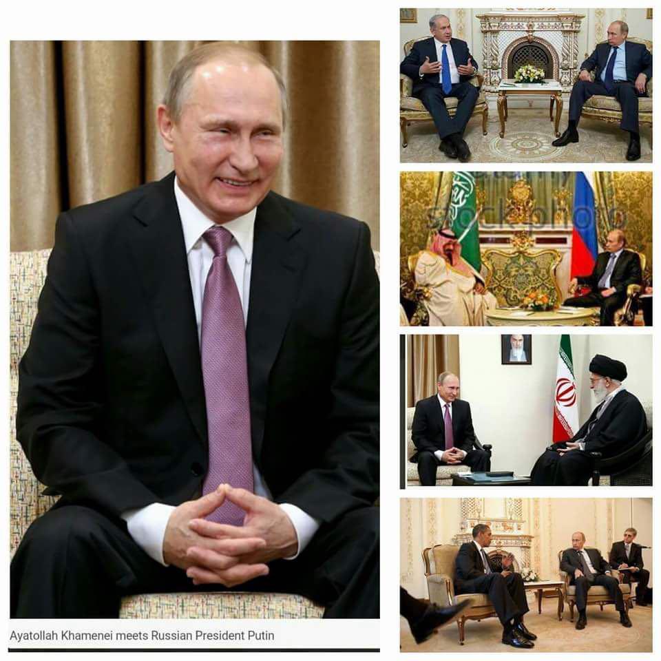 تفاوت طرز نشستن پوتین در مقابل مقام معظم رهبری با دیگران+ عکس