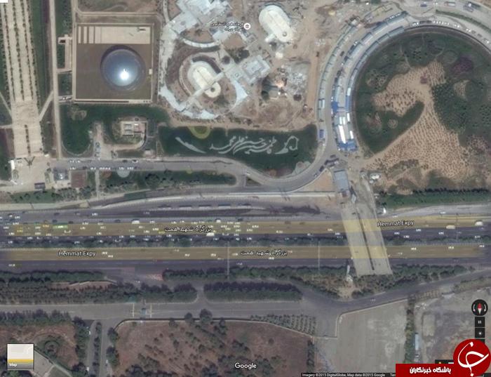 گوگل تهران را بهتر از ما می بیند + عکس