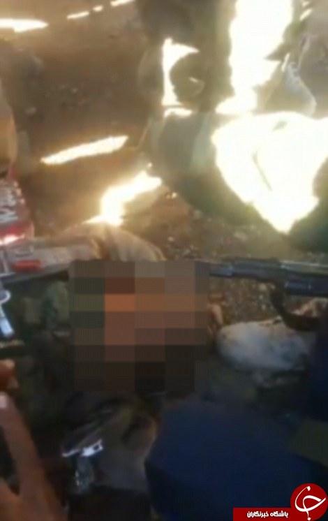نزدیکترین عکس از سقوط جنگنده روسی+مختصات