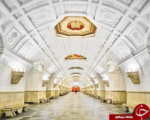زیباترین وقدیمی ترین متروی دنیا/ خارق العاده ترین متروی دنیا+تصاویر