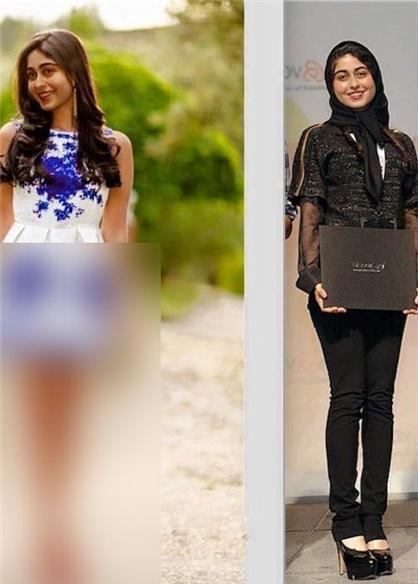 عکس نیمه برهنه منتسب به دختر نعیمه اشراقی صحت ندارد+تصاویر
