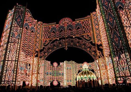 جشنوارهی زمستانی نور در ژاپن + تصاویر