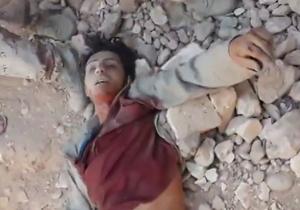 انتقام تلافی جویانه ارتش عراق از یک داعشی + فیلم(18+)