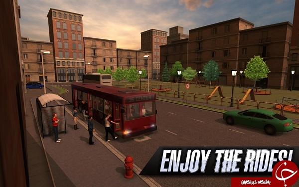 بازی شبیه ساز اتوبوس Bus Simulator 2015 +دانلود