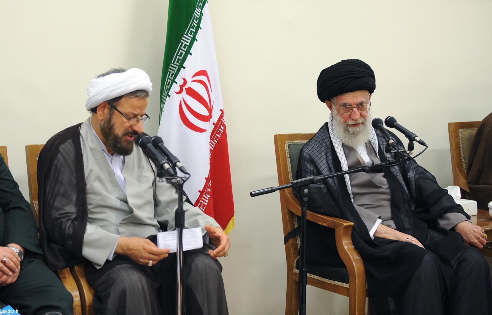 بیانات رهبر معظم انقلاب اسلامی در دیدار اعضاي ستاد جشنواره شعر حوزه