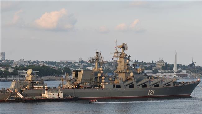 اعزام ناو جنگی روسی به ساحل سوریه