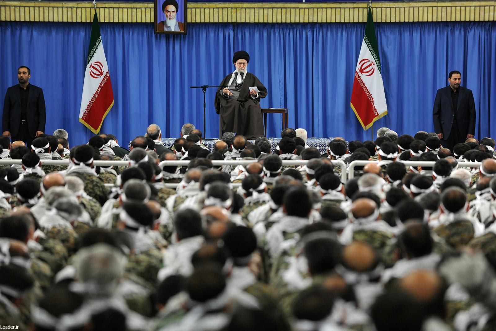 بیانات رهبر انقلاب در دیدار فرماندهان بسیج