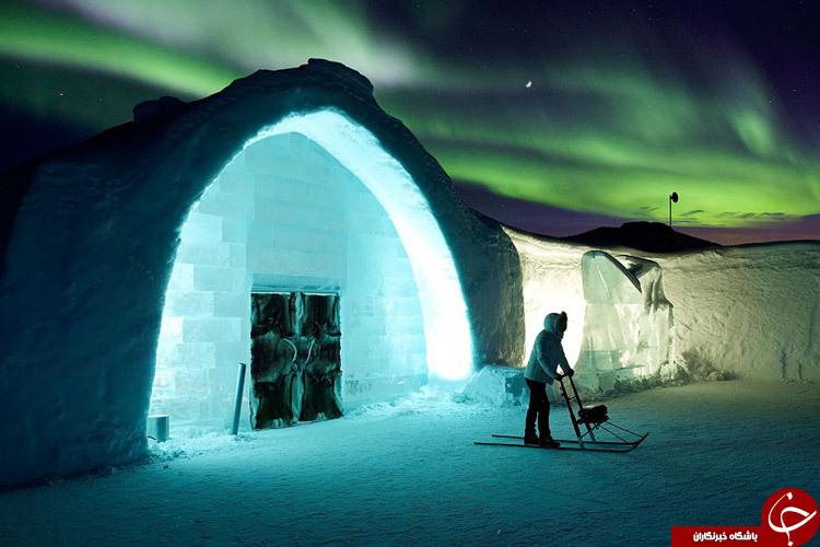 عجیب ترین هتل های جهان +تصاویر