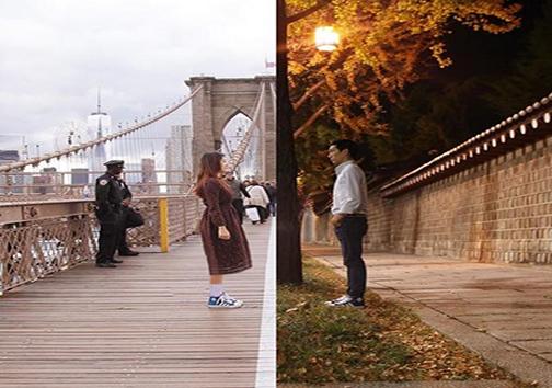 دور اما نزدیک؛ زنوشوهری که فقط با عکس باهم در ارتباطند + تصاویر