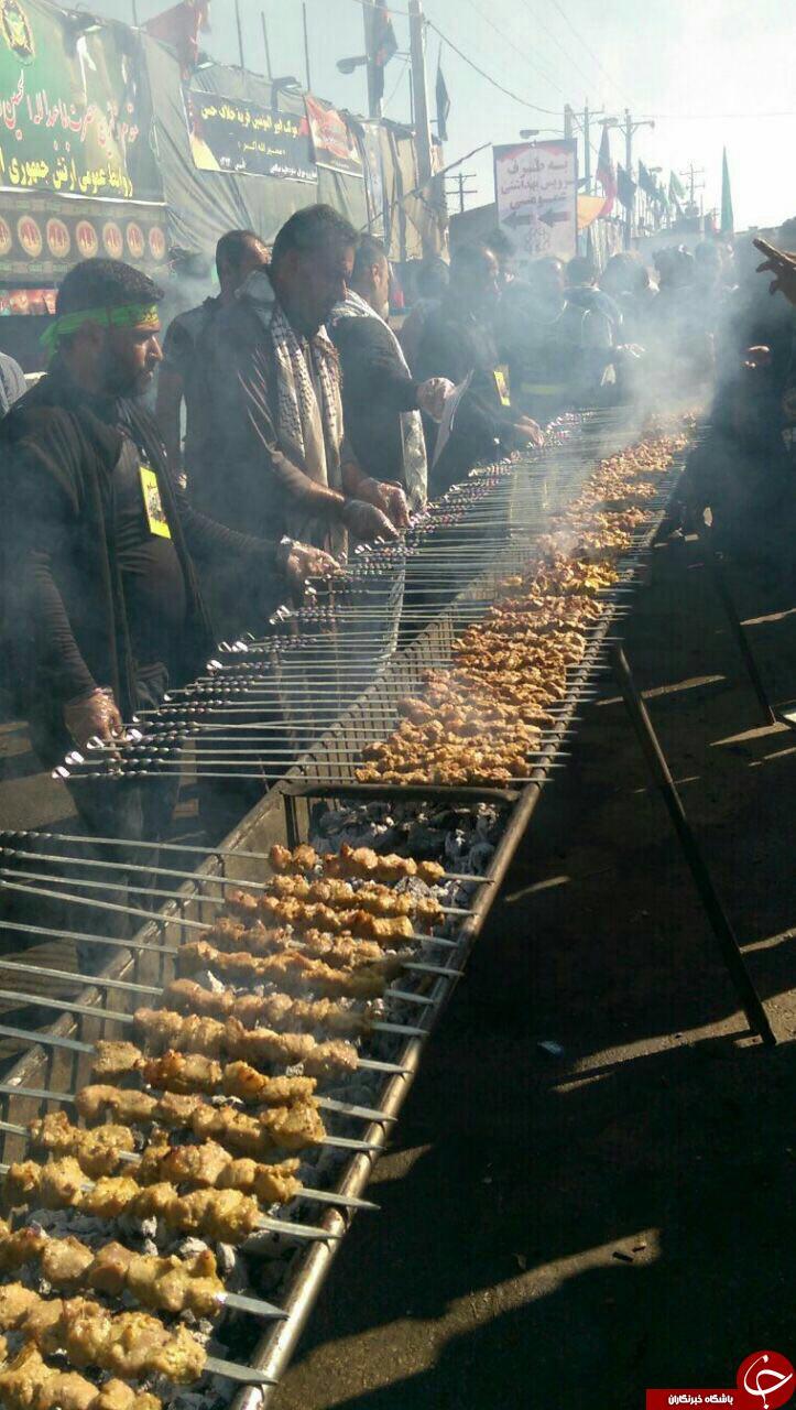 خوراک عزاداران حسینی + عکس
