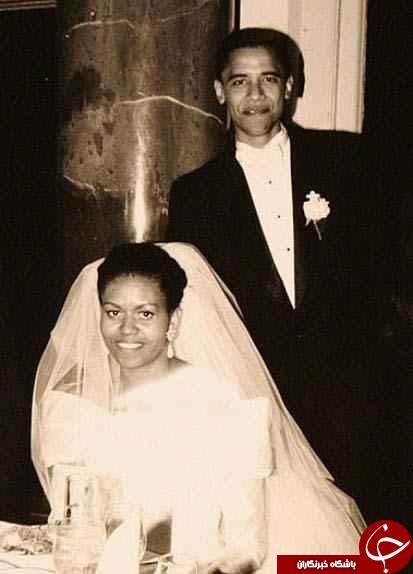 تصاویر کمتر دیده شده از اوباما!