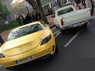 وانت پیکان در آلمان + عکس