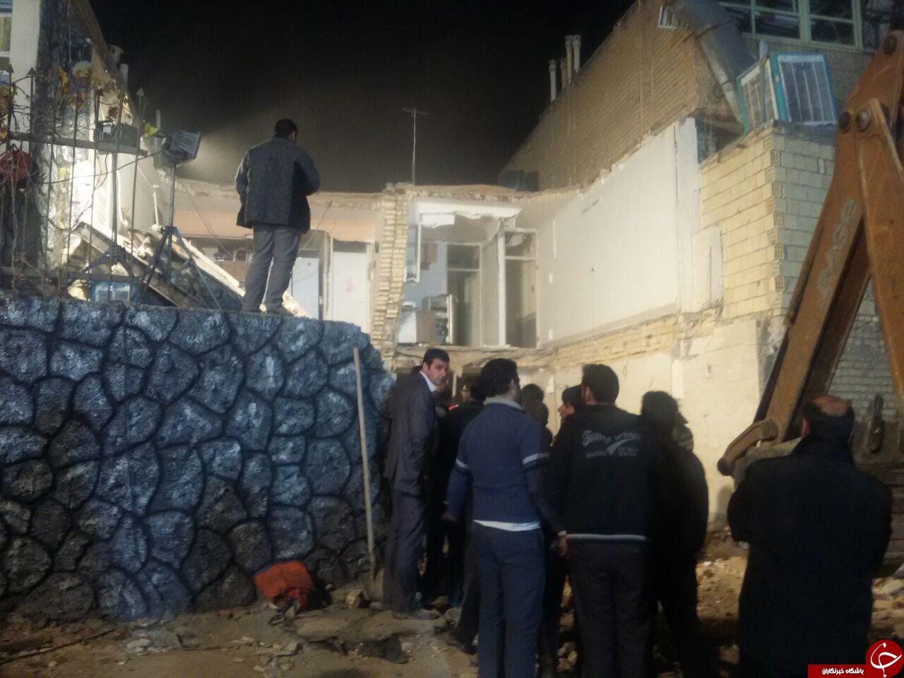 جزئیات انفجار مهیب در خیابان چمران اصفهان + تصاویر