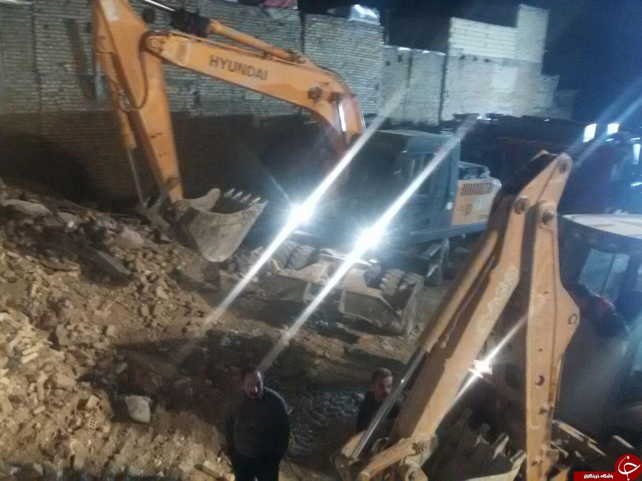 انفجاری مهیب در خیابان چمران اصفهان اتفاق افتاد + تصاویر