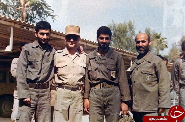 سردار سلیمانی و شهید تهرانی مقدم در یک قاب +عکس