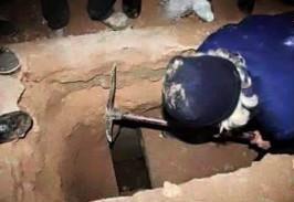 نبش قبر نوه حضرت موسی کاظم(ع)توسط داعش عکس