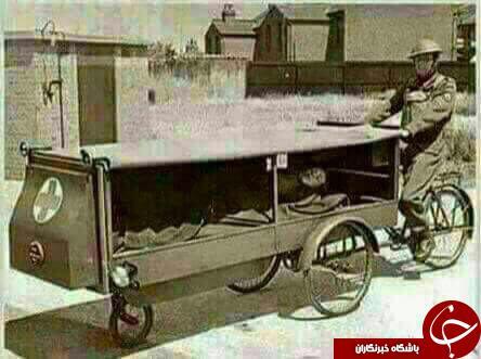 اولین آمبولانس دنیا+ عکس