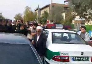 لحظه دستگیری سارق مسلح طلا فروشی گلستان + فیلم