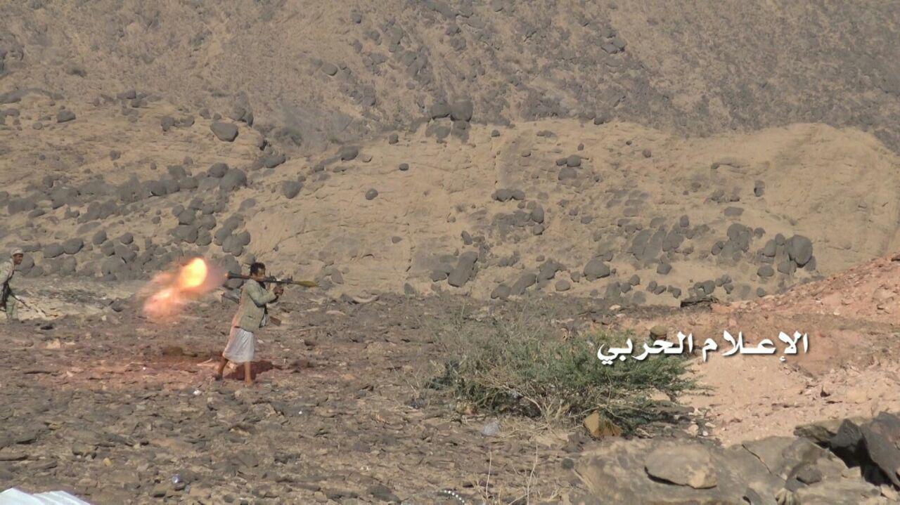 ورود یمنیها به یک پایگاه نظامی سعودی+ تصاویر