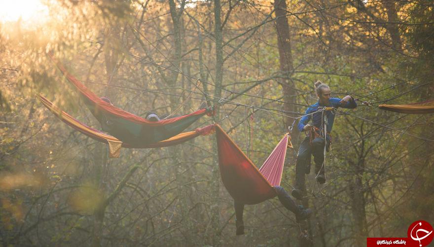 خوابی رویایی در بهشت + عکس