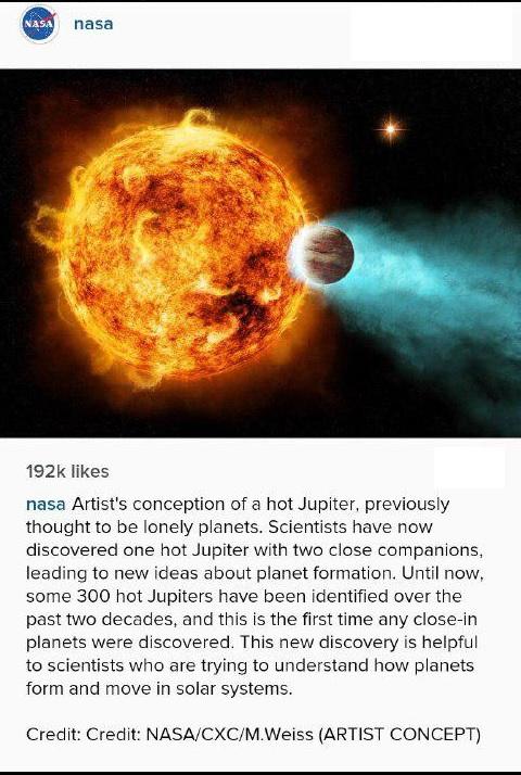 سیارات داغ چگونه شکل می گیرند!
