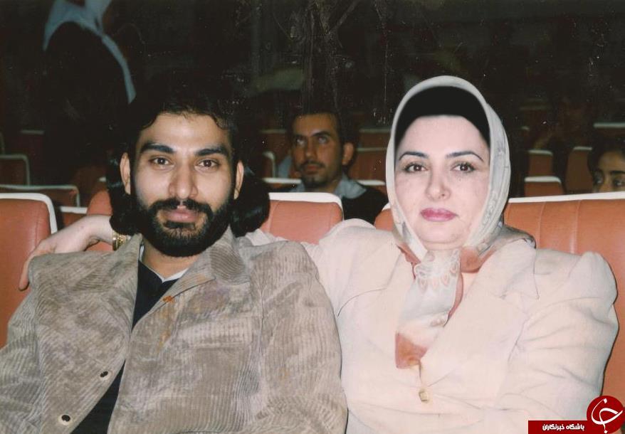 ناصر عبداللهی و همسرش + عکس