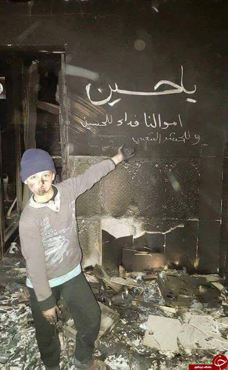 عشق متفاوت  به امام حسین ع توسط یک کودک