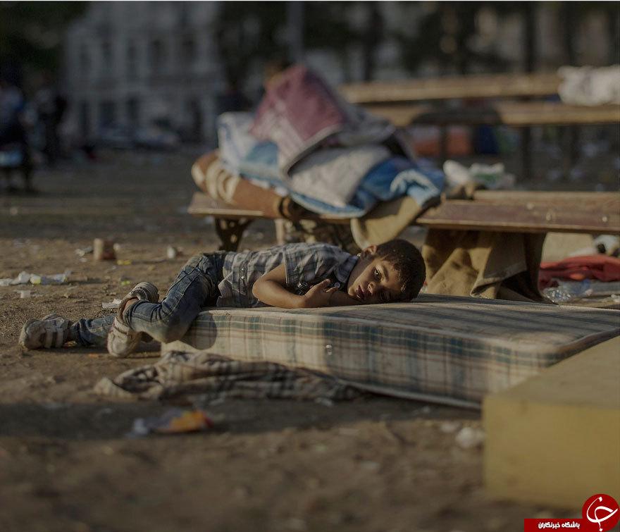 کودکان آواره شده سوریه + تصویر