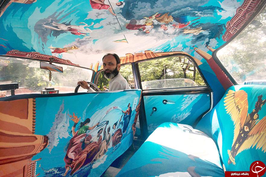 زیباترین تاکسی جهان + عکس