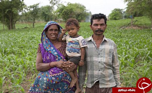 خانواده هندی با 15 دختر همچنان در انتظار تولد فرزند پسر + تصاویر