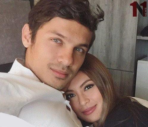 مدل سرشناس شرق آسیا با فوتبالیست ایرانی ازدواج کرد
