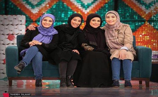 دابسمش بازیگران زن در «خندوانه»/ رکوردزنی رامبد جوان در برنامههای تلویزیونی +تصاویر