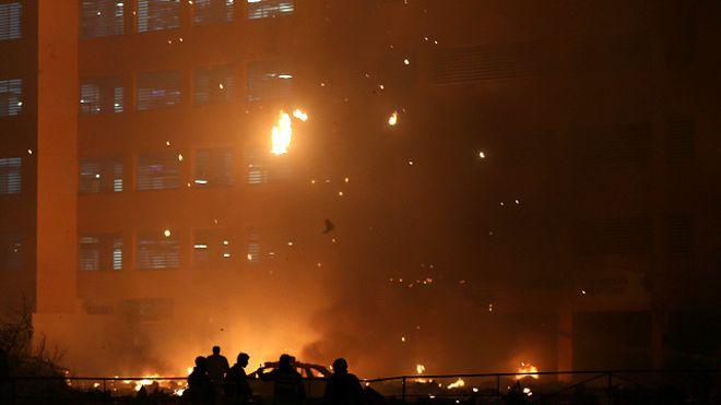 آتشسوزی گسترده در